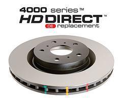 DBA 4000 HD brake discs front DBA 42134