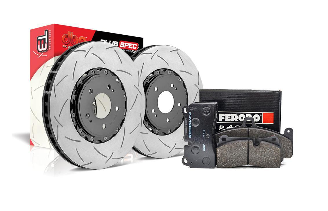 Special package DBA 5000 T3 slotted front discs and Ferodo DS2500 pads - Audi RS3 8V (sportback only)