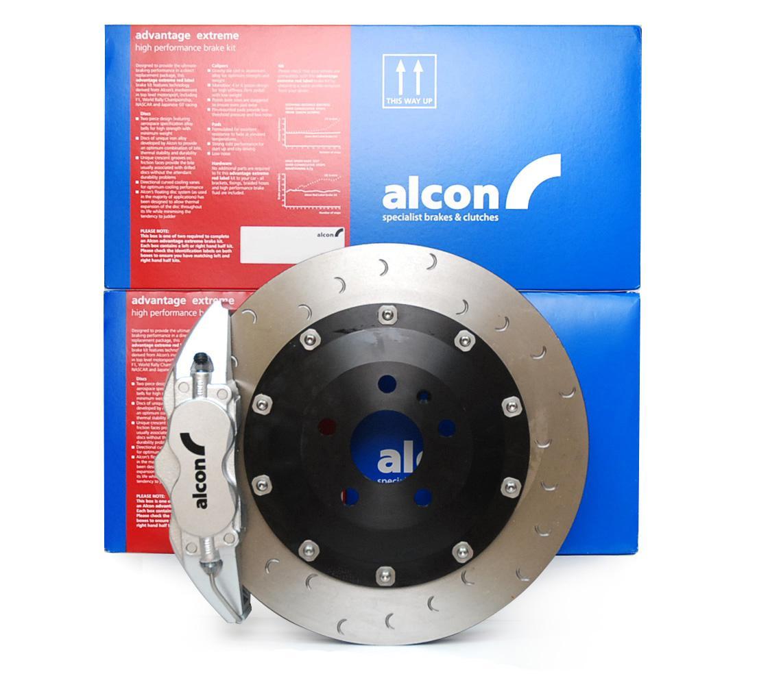 Alcon Adv. Extreme brake kit front 4 pot Ø365x32 - VW GOLF Mk6 GTI / GOLF R