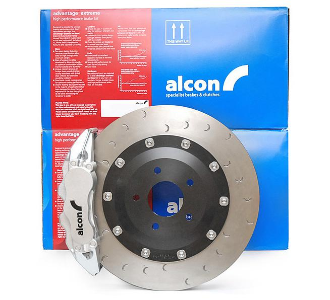 Alcon Adv. Extreme brake kit front 6 pot Ø365x32 - VW GOLF Mk6 GTI / GOLF R