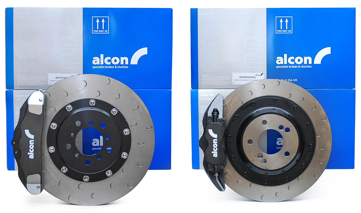 Alcon Superkit ( street / track ) brake kit front and rear - BMW M3 E92