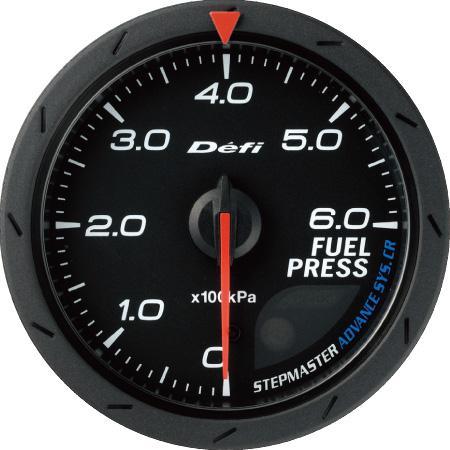 Defi Advance CR Gauge /  Ø60 mm / Fuel pressure / Black DF09002