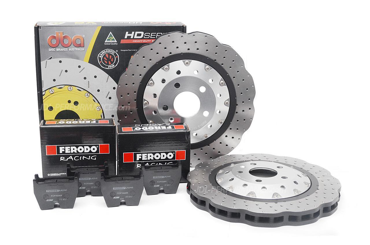 Special package DBA 5000 XS drilled front discs and Ferodo DS1.11 pads - Audi R8 / RS4 B8 / RS5 B8