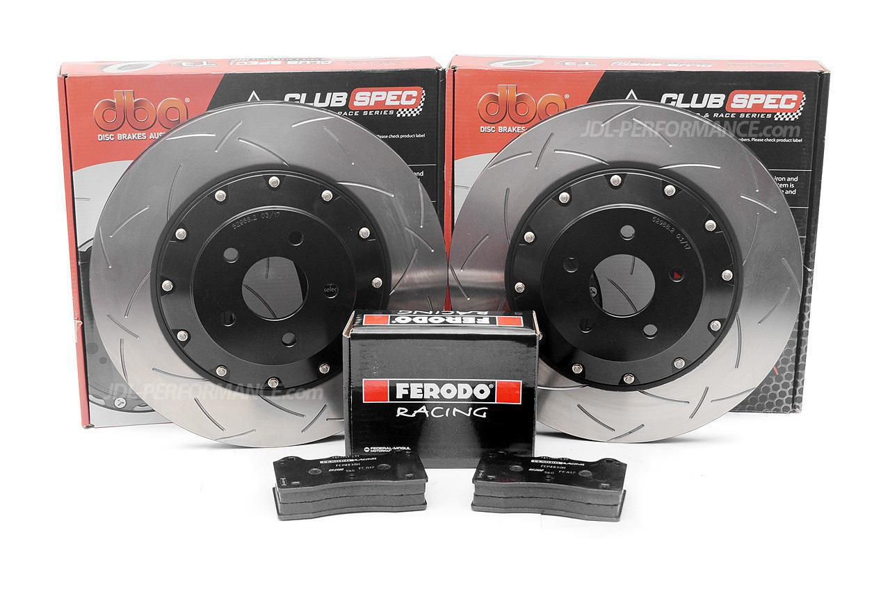 Special package DBA 5000 T3 slotted front discs and Ferodo DS2500 pads - Ford Focus RS MkIII