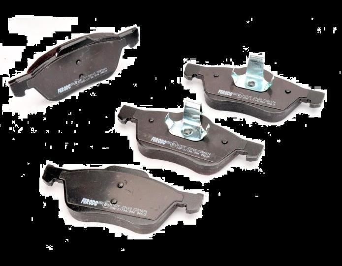 Ferodo Premier front pads FDB1674