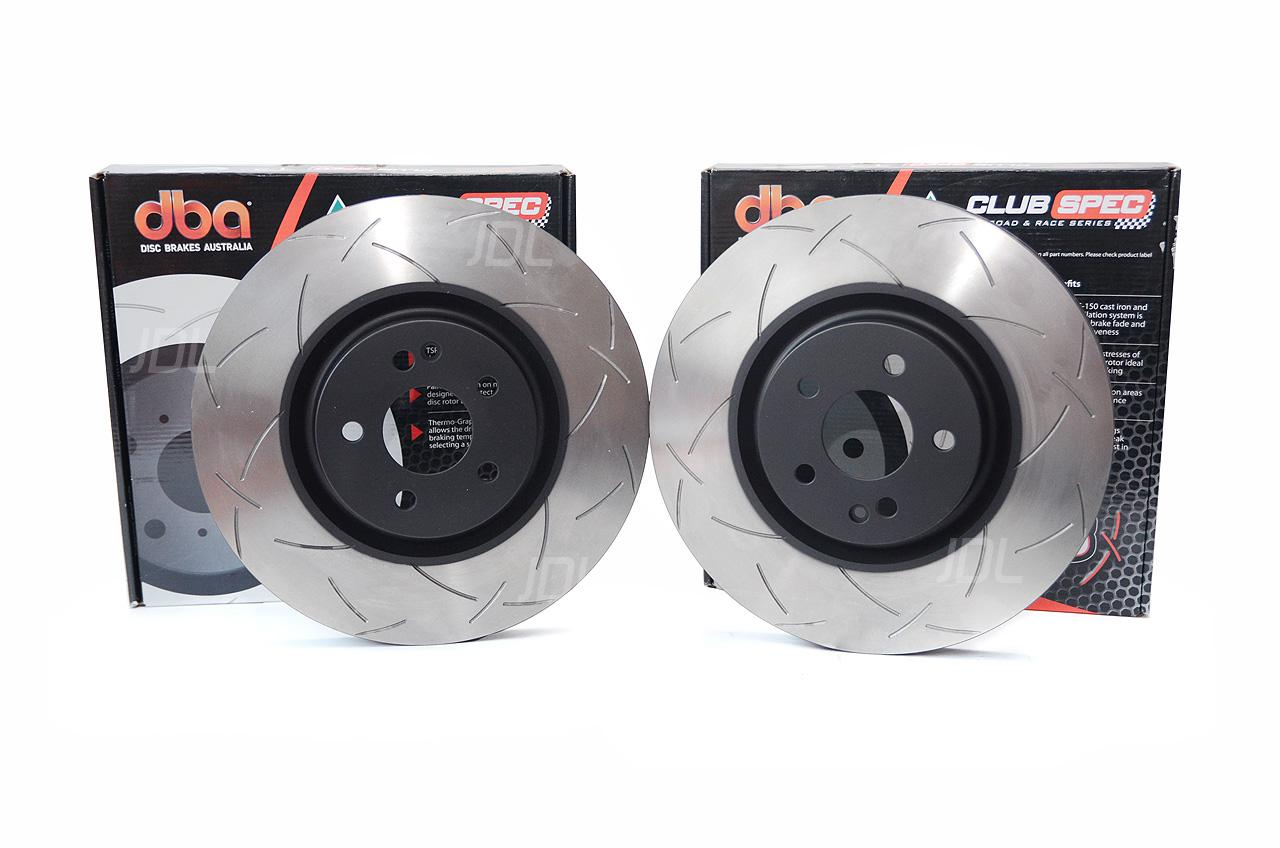 DBA 4000 T3 slotted brake discs DBA 42698S Mercedes A45 / CLA45 AMG