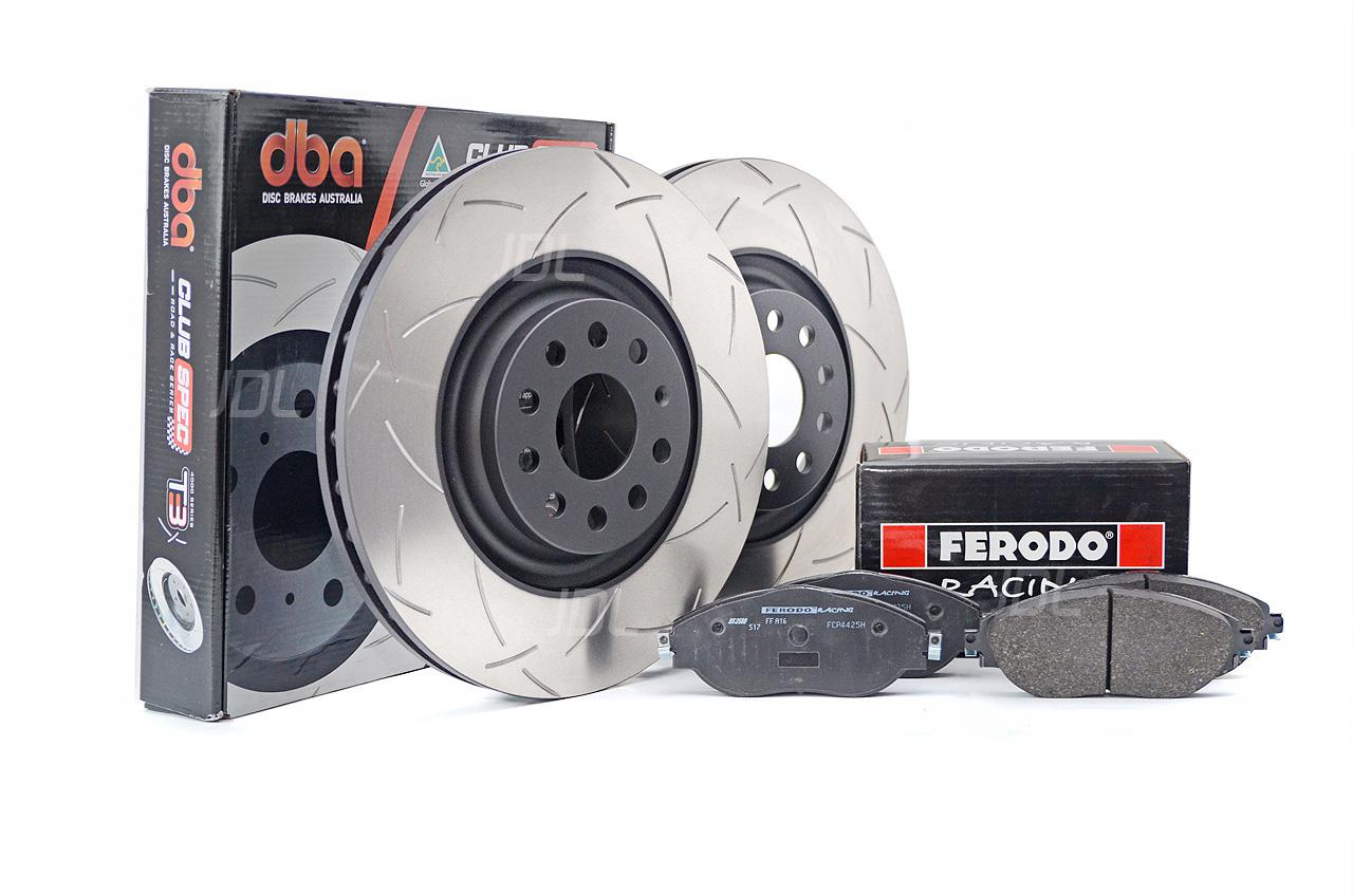 Special package DBA 4000 T3 slotted front discs and Ferodo DS2500 pads - Opel Insignia OPC / Vauxhall Insignia VXR