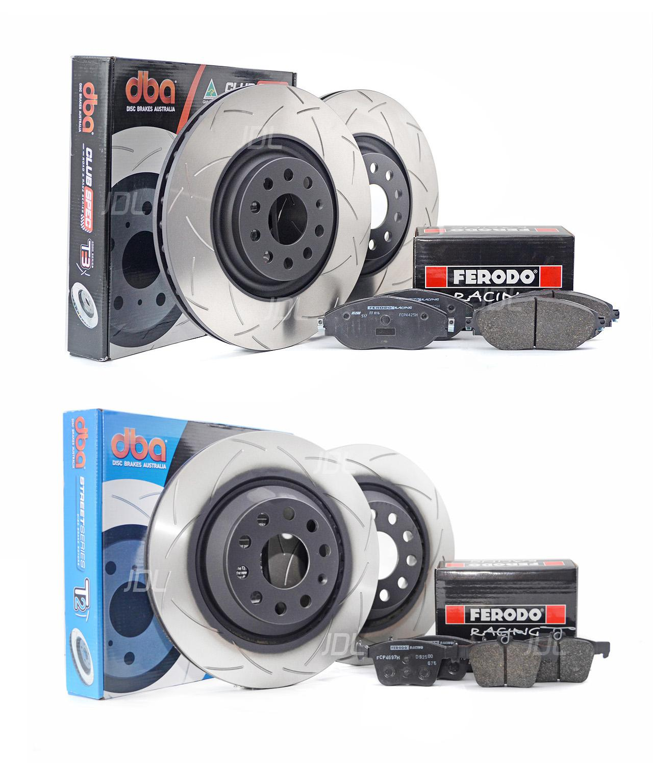 Special package DBA front and rear discs with Ferodo DS2500 brake pads - VW Golf R Mk7 / Audi S3 8V