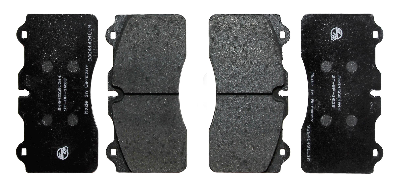 Pagid RSC1 front pads for Surface Transforms Carbon Ceramic front kit - Nissan R35 GTR
