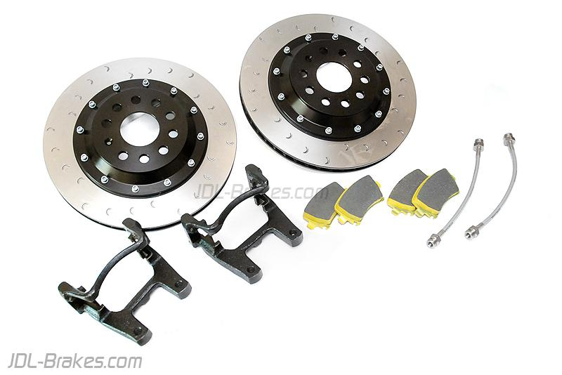 JDL / Alcon Big Brake Discs rear kit Ø330x22 - VW GOLF R Mk6 / Mk5 R32 / SCIROCCO R