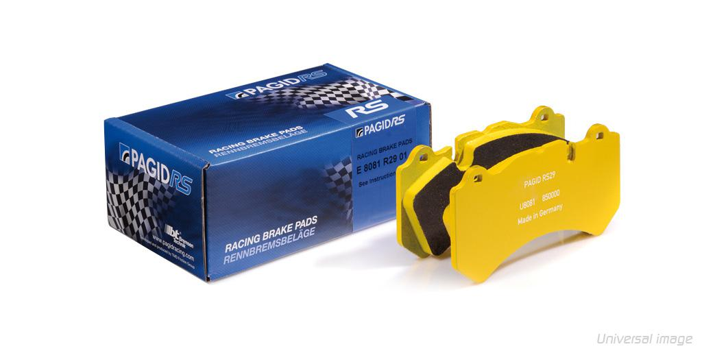 Pagid RS29 Brake Pads Porsche 991 Turbo [ceramic brakes] - Front (E4927)