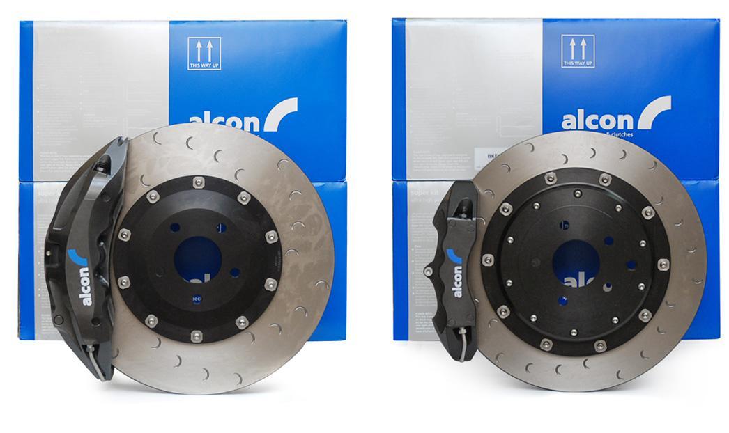 Alcon  Superkit ( street / track ) brake kit front and rear - NISSAN GTR