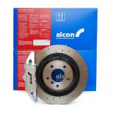 Alcon Adv. Extreme brake kit rear 4 pot Ø343x28 - BMW M3 E46 / Z4M E85 E86