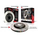 DBA 4000 T3 slotted brake discs DBA 42663S
