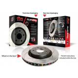 Special package DBA 4000 T3 slotted front discs and Ferodo DS Performance front pads - Ford Focus RS Mk2