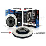DBA T2 slotted brake discs DBA 2806S