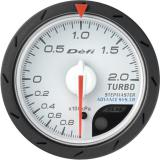 Defi Advance CR Gauge /  Ø52 mm / Turbo / White DF07801