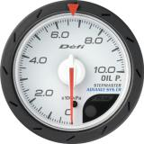 Defi Advance CR Gauge /  Ø52 mm / Oil pressure / White DF08101