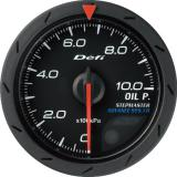 Defi Advance CR Gauge /  Ø52 mm / Oil pressure / Black DF08102