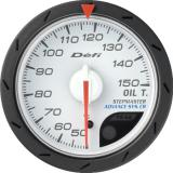 Defi Advance CR Gauge /  Ø52 mm / Oil temperature / White DF08301