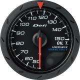 Defi Advance CR Gauge /  Ø52 mm / Oil temperature / Black DF08302