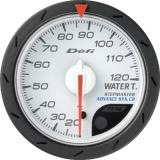 Defi Advance CR Gauge /  Ø52 mm / Water temperature / White DF08401
