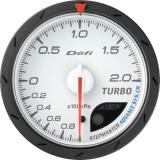 Defi Advance CR Gauge /  Ø60 mm / Turbo / White DF08601