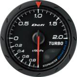 Defi Advance CR Gauge /  Ø60 mm / Turbo / Black DF08602