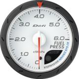 Defi Advance CR Gauge /  Ø60 mm / Fuel pressure / White DF09001
