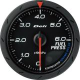 Defi Advance CR Gauge /  Ø60 mm / Fuel pressure / Black DF09002