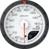 Defi Advance CR Gauge /  Ø60 mm / Oil temperature / White DF09101