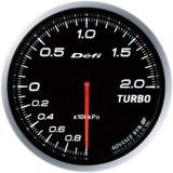 Defi Advance BF Gauge /  Ø60 mm / Turbo / Blacked out DF09901