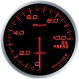 Defi Advance BF Gauge /  Ø60 mm / Oil pressure / Blacked out DF10202