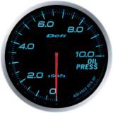 Defi Advance BF Gauge /  Ø60 mm / Oil pressure / Blacked out DF10203