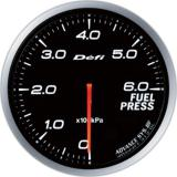 Defi Advance BF Gauge /  Ø60 mm / Fuel pressure / Blacked out DF10301