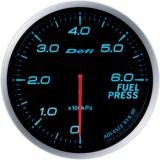Defi Advance BF Gauge /  Ø60 mm / Fuel pressure / Blacked out DF10303