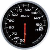 Defi Advance BF Gauge /  Ø60 mm / Oil temperature / Blacked out DF10401