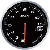 Defi Advance BF Gauge /  Ø60 mm / Exhaust gas temperature / Blacked out DF10601