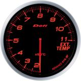 Defi Advance BF Gauge /  Ø60 mm / Exhaust gas temperature / Blacked out DF10602