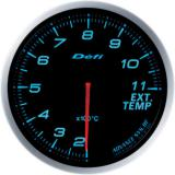 Defi Advance BF Gauge /  Ø60 mm / Exhaust gas temperature / Blacked out DF10603