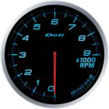 Defi Advance BF Gauge /  Ø60 mm / Tachometer / Blacked out DF10706