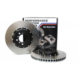 Performance Friction floating discs and bells rear 328.061.87/88 - BMW M3 E46