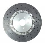Surface Transforms Carbon Ceramic rear disc assembly 400x30 mm - Nissan R35 GTR