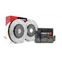 Special package DBA 5000 T3 slotted front discs and Ferodo DS2500 pads - Audi S3 8V / VW GOLF 7 R/GTI / LEON CUPRA 5E / OCTAVIA RS 5E / SUPERB 2.0