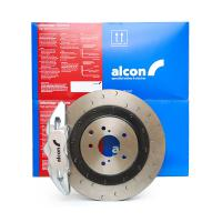 Alcon Adv. Extreme brake kit rear 4 pot Ø350x28 - NISSAN 350Z