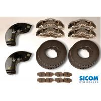 SICOM Carbon Ceramic brake kit front and rear 400 / 370 - BMW 1M Coupe E82