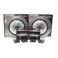 Special package DBA 5000 XS drilled front discs and Ferodo DS2500 pads - Audi R8 / RS4 B8 / RS5 B8