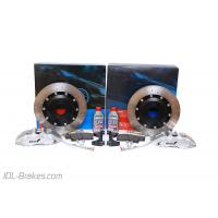 Alcon Adv. Extreme brake kit front 6 pot Ø365x32 - MITSUBISHI LANCER EVO 10
