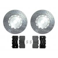 Surface Transforms Carbon Ceramic front brake kit ( 400x34 mm ) for OE calipers - Nissan R35 GTR