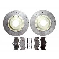 """Surface Transforms Carbon Ceramic front brake kit ( 380x34 mm ) for OE calipers - Porsche 997 GT2 / GT3 ( 18"""" wheels )"""